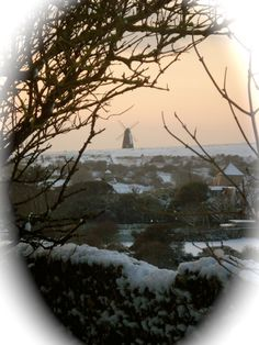 Rottingdean: Windmill and Snow
