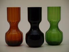 kumela_maljakot_big Lassi, Glass Design, Finland, Mid-century Modern, Scandinavian, Mid Century, Bottle, Home Decor, Homemade Home Decor