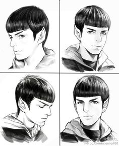 Aww! Spock will always be adorable, even Spock Prime is adorable and he's an OLD MAN. Teen-Spock's hoodie is pretty cool too.
