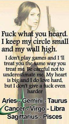 Libra is fierce so true...