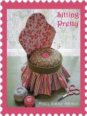 I am loving this little Sitting Pretty chair pincushion!! Kimber from Heirlooms from Ashton House shares a free pattern and tutorial over at Riley Blake Designs' Cutting Corners College for …
