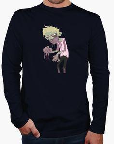 Camiseta Zombi comiendo cerebros