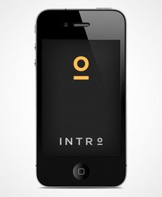 Intro iPhone app – UI Design by MayNinth