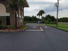 Recent Sealcoating & Striping Job By ABC Paving & Sealcoating for the Kissimmee/Osceola County Chamber!