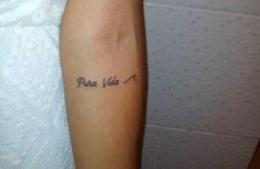Liebreizend Tattoo Zentralamerika, Mini Tattoo, Pura Vida, Welle, www.liebreizend.com