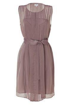 Alexon lace top dress dark purple dress