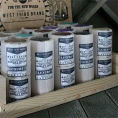 """West Third Brand Pillar Candles - Choice of six fragrances. All cotton wick. 2.75"""" x 3""""."""