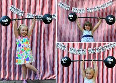 While Wearing Heels: Circus Party - Grand Finale- kind of want to do a grown up version of this, it would be so fun Carnival Photo Booths, Circus Carnival Party, Kids Carnival, Circus Theme Party, Carnival Birthday Parties, Carnival Themes, Circus Birthday, Birthday Party Themes, Circus Decorations