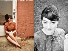 bettencourt chase photography blog: Portraits: Emily's Audrey Hepburn shoot