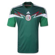 3df95cfa3a6fc Mexico 2014 Home Soccer Jersey - The Official FIFA Online Store Camiseta  Seleccion