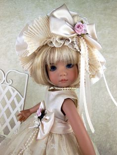 """Dress 6 Piece Fits Effner 13 Little Darling Betsy McCall 14"""" Doll by LCDD 