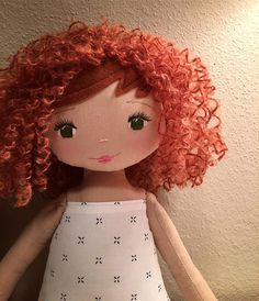 Beautiful handmade doll SpunCandy   See this Instagram photo by @spuncandydolls • 387 likes