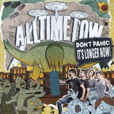 #AllTimeLow to release 'Don't Panic: It's Longer Now' on October 1st.