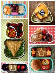 Inspiring! I'm really into bento box lunches these days for my toddler...they make him (and me) happy!