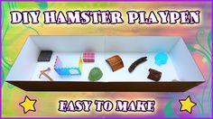 Easy $3 DIY Hamster Playpen