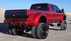 Ford Powerstroke, Big Wheel, 5th Wheels, Hot Rides, Ford Motor Company, Ford Trucks, 4x4, Monster Trucks, Bike