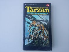 Tarzan and the Leopard Men / Vintage paperback book / Pulp fiction / Edgar Rice Burroughs / Retro book / Neal Adams by MidKitschCuckoo on Etsy