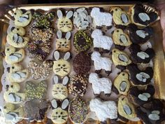 I miei dolcetti Pasquali al cioccolato #cookies #Easter #chocolate