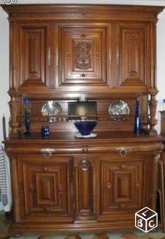 meuble henri 4 - buffet vaisselier henri ii relooking de meubles pinterest buffet de f te