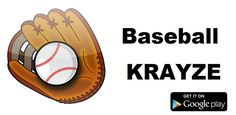 """Did you play """"Baseball Krayze"""" ? Now on Android https://play.google.com/store/apps/details?id=us.baseball.craze"""