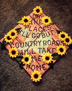 Grad cap for the country girl