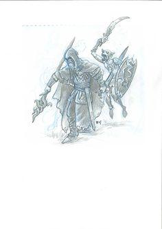 Original: Crónicas de Gaidil #20. Original realizado en 2007, para el libro de rol Crónicas de Gaidil. Puedes comprarlo en www.victorrivasillustration.com