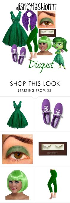 """""""Disgust • Inside Out"""" by disneyfashion77 ❤ liked on Polyvore featuring Keds, Laura Mercier, Rubie's Costume Co., Bally, women's clothing, women's fashion, women, female, woman and misses"""
