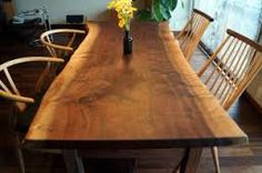 「一枚板のテーブル」の画像検索結果