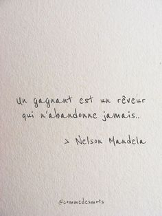 Un gagnant est un rêveur Citations Words Quotes, Life Quotes, Sayings, Positive Attitude, Positive Quotes, Mantra, Citation Nature, French Quotes, Nelson Mandela