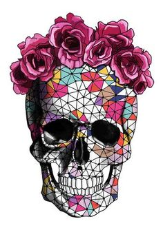 GEOMETRIC SKULL. For more information Please take a moment to visit our website : https://www.hustleliving.com.au/