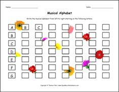 This series of free music theory worksheets is designed with the young child in mind. They are fun, offer engaging images, and suited for children aged 4 to All of the worksheets are free and printable. Music Theory Worksheets, Alphabet Worksheets, Teaching Music, Teaching Resources, Teaching Ideas, Music Classroom, Classroom Ideas, Music Symbols, Elementary Music