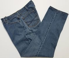John B. Stetson - Men's Blue Jeans - Tag Size 38x34 (Actual Size 38x33) Cotton Denim Pants  #JohnBStetson #ClassicStraightLeg ..... Visit all of our online locations.....  www.stores.eBay.com/variety-on-a-budget .....  www.stores.ebay.com/ourfamilygeneralstore .....  www.etsy.com/shop/VarietyonaBudget .....  www.bonanza.com/booths/VarietyonaBudget .....  www.facebook.com/VarietyonaBudgetOnlineShopping