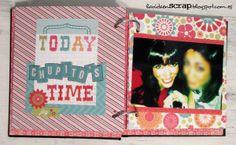Un mini álbum con una agenda: http://lavidaenscrap.blogspot.com.es/2014/04/mini-album-miranderos.html