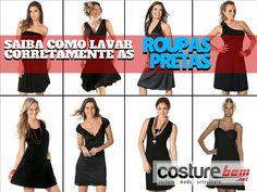Sensacional Saiba como lavar corretamente as roupas pretas ,   Roupas pretas exigem algunscuidadosna lavagem, para não ficarem com aquele aspecto envelhecido ou pelinhos indesejáveis. Mas como lavar corr... , Rogério Wilbert , http://blog.costurebem.net/2013/09/saiba-como-lavar-corretamente-as-roupas-pretas/ ,  #blusapreta #cuidadoscomtecidos #roupas #roupaspretas #Saibacomolavarcorretamenteasroupaspretas #tecidos #vestidospretos