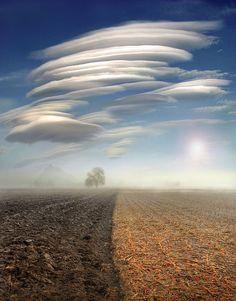 Las más extrañas formaciones de nubes que jamás habíamos visto ...