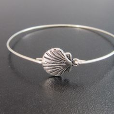 Scallop Shell Bracelet Scallop Shell Jewelry by FrostedWillow, $16.95