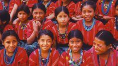 El color de Guatemala también es su patrimonio.