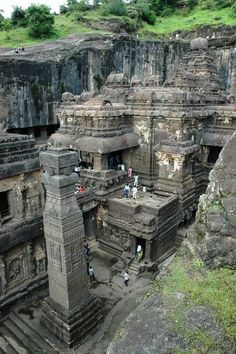 Ellora Caves in India!  Sitara India is a North and South Indian Cuisine Restaurant located in Layton, UT! We always provide only the highest quality and freshest products, made from the best ingredients! Visit our website www.sitaraindia.com or call (801) 217-3679 for more information!
