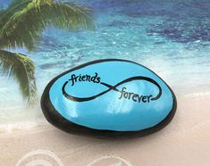Friends Forever Painted Rock Friendship Painted Stone Best