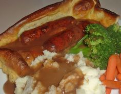 Traditional British Toad-In-The-Hole and Mini Toads Too!. Photo by Bergy