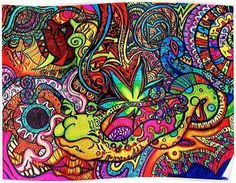 Psychedelic and Trippy Backgrounds for your desktop Trippy Artwork, Tumblr Backgrounds, Drawings, Hippie Art, Zentangle Art, Artwork, Abstract, Hippie Wallpaper, Hippie Background