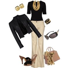 """Day sophistication, LOVE This Look... Need more comfy shoes... """"B"""""""