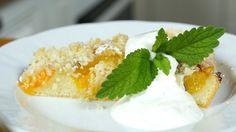 Recepty se Zuzkou : Meruňkový koláč Menu, Pudding, Desserts, Food, Menu Board Design, Tailgate Desserts, Deserts, Custard Pudding, Essen