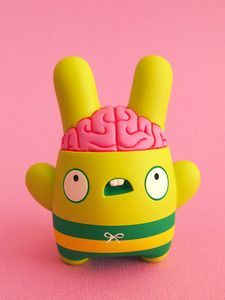 Image of Billy Brains (resin toy)http://shop.dollyoblong.com/