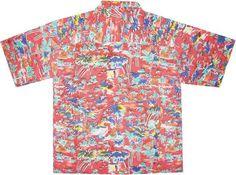 vintage hawaiian shirt back Vintage Hawaiian Shirts, Black Lagoon, Aloha Shirt, Men Casual, Colors, Mens Tops, Anime, Style, Fashion