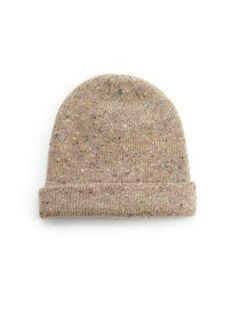 saks sutton tweed hat by jack spade.