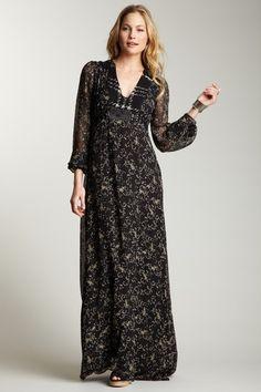 Sweet Rose Maxi Dress