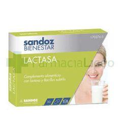 SANDOZ BIENESTAR LACTASA 30 CAPSULAS