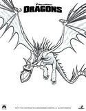 Printable coloring pages How to train your dragon. Harold is a young Viking. He became friends with a Dragon. But in its tribe,fight dragons is a national sport and the custom wants that the transition to adulthood is made by killing a dragon. Train Coloring Pages, Shark Coloring Pages, Dragon Coloring Page, Coloring Pages For Boys, Colouring Pages, Coloring Sheets, Kids Coloring, Dragons Dreamworks, Raven Color
