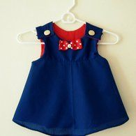 FREE Retro Style Toddler Jumper Sewing Pattern and Tutorial